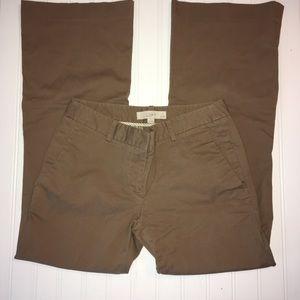 Ann Taylor Loft ladies sz 2 P bootcut brown pants